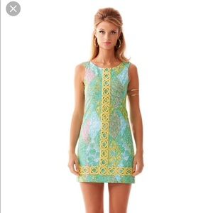 Lilly Pulitzer Mila shift dress in sun dance